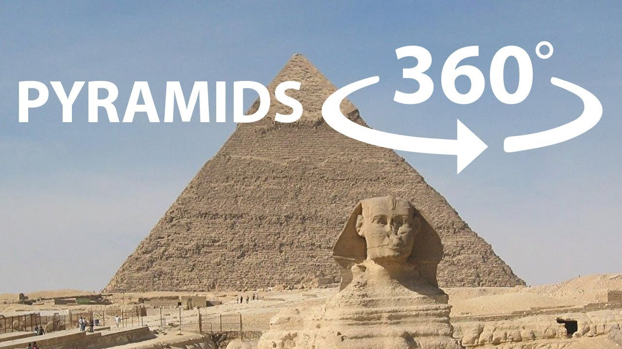 Egypt Pyramids and Sphinx 360° VR 4K 3D VIDEO First Wonder of the World at Giza