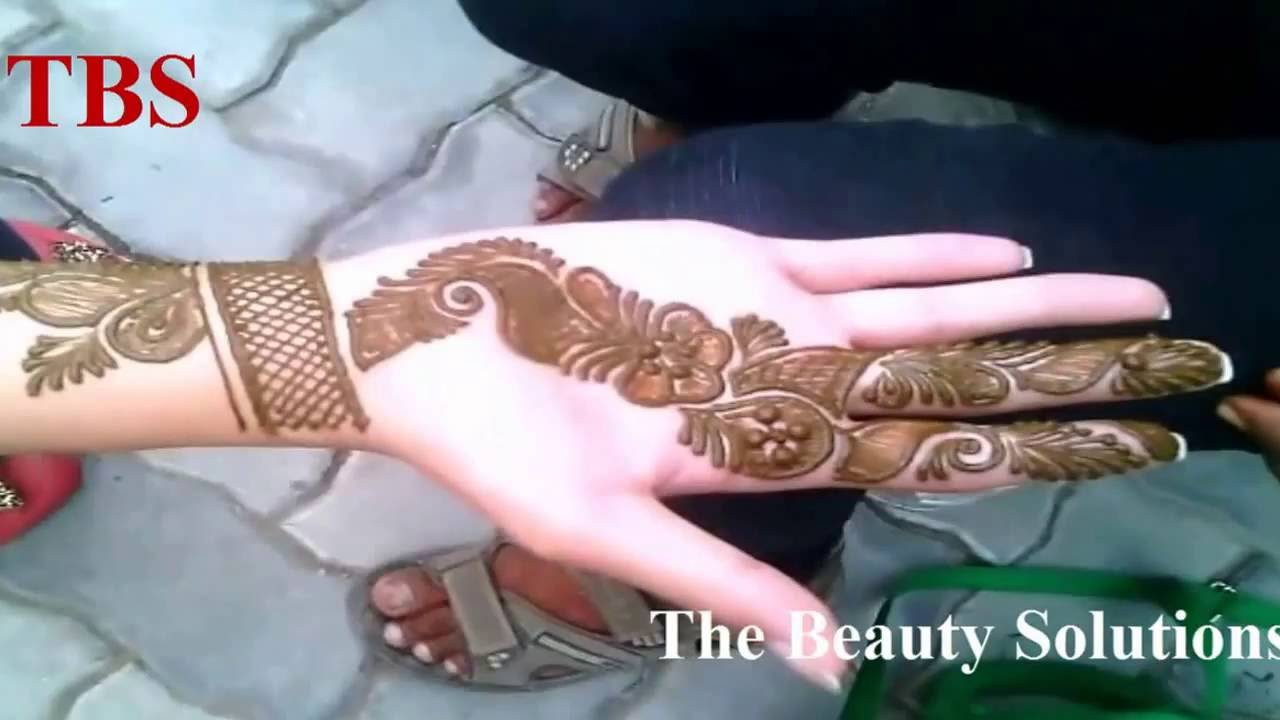 20162017 Simple Latest Best Arabic Mehndi Designs For
