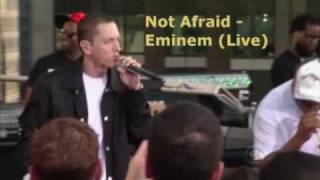 Eminem - Not Afraid (Alternate Live Version)