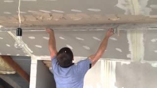 штукатурка и шпатлевка потолка и стен ( исправляем косяки )(, 2014-07-26T13:55:58.000Z)