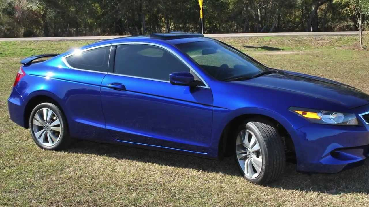 2008 Honda Accord Coupe Youtube