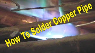 How To Solder Copper Pipe And Not Burn Wood Studs 1