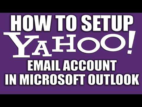How to open yahoo mail accounts in outlook