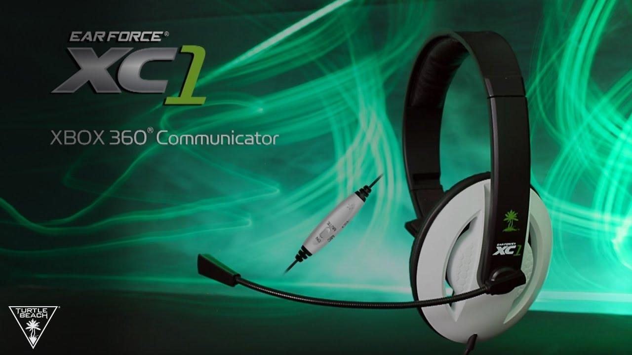 Turtle Beach® Ear Force® XC1 XBOX Communicator - YouTube