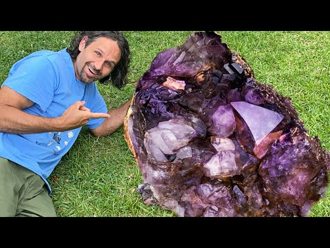 Amethyst Crystal Mining On Another Level | Breaking A World Record!?