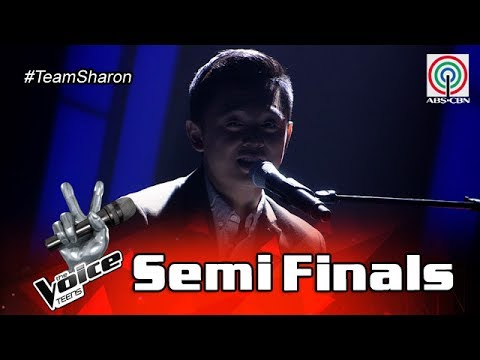 The Voice Teens Philippines Semifinals: Jeremy Glinoga - Sign Of The Times