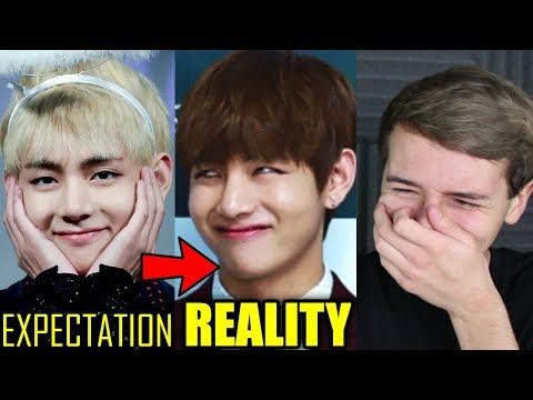 BTS Expectation Vs Reality #2 Reaction
