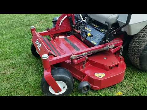"Exmark 48"" Lazer Z HP Zero Turn Mower w/ Ultra Vac Bagging System Walk-Around Inspection! from YouTube · Duration:  2 minutes 36 seconds"