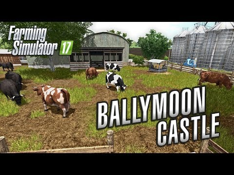 Farming Simulator 2017 | FINDING OUR FIELDS | Ballymoon Castle | Episode 2
