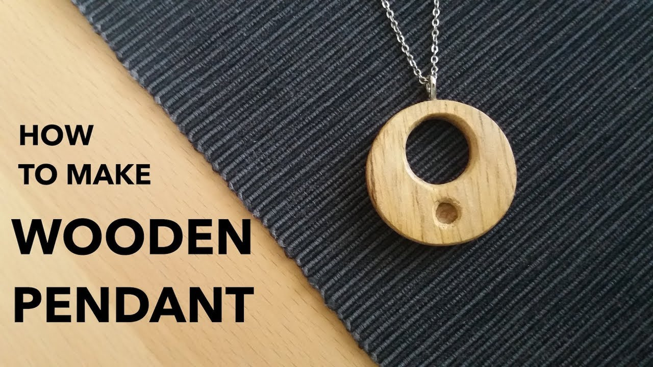 How to make a wooden pendant amulet woodworking youtube how to make a wooden pendant amulet woodworking aloadofball Gallery