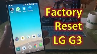 lg g3 two ways to factory reset format and erase