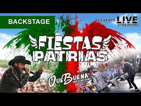 BACKSTAGE Fiestas Patrias 2015 LIVE STREAM