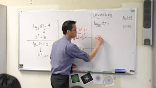 Introduction to Logarithms (2 of 2: Numerical examples)