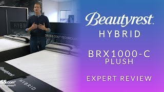 Beautyrest Hybrid BRX1000-C Plush Mattress Expert Review