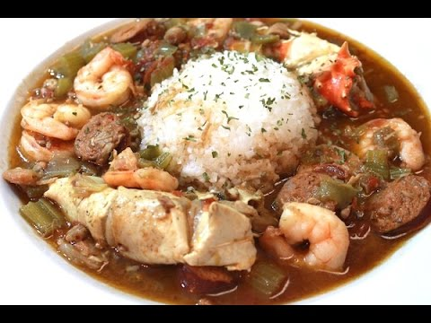 Best EVER Gumbo Recipe - Seafood, Chicken, and Sausage - I H