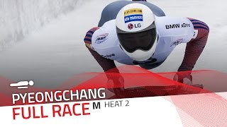 Pyeongchang | BMW IBSF World Cup 2016/2017 - Men's Skeleton Heat 2 | IBSF Official