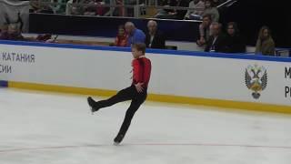 Михаил Коляда ПП Контрольные прокаты 2018-2019 Mikhail Kolyada FS Open Skates