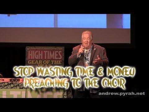Stop Preaching to the Choir with Robert Platshorn PART TWO Amsterdam Cannabis Cup Seminar 2014