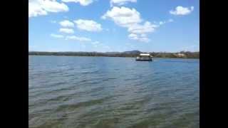 Passeio no Lago de Cana Brava em Minaçu - GO