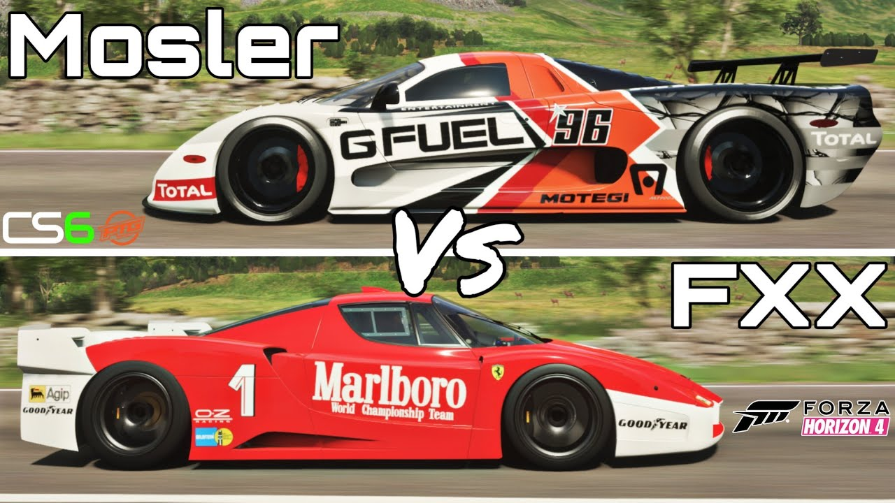 Forza Horizon 4 - Ferrari FXX Vs Mosler MT900S - Forza Rivalries by  ConnerSpeed6