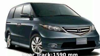 2007 Honda Elysion G Aero Specs & Details