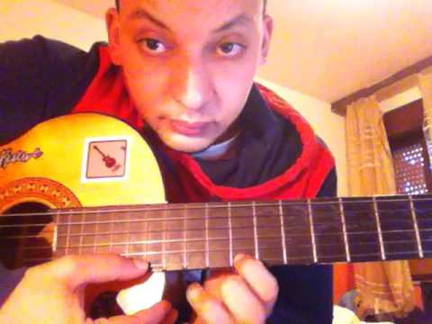 Abdulrahman Mohammed Asabaka 3ich9o Guitar Lessons 2016 Solo-chords