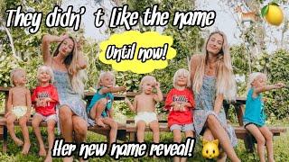 "FINALLY using my favorite ""ODD"" baby name! *name reveal*"