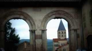 Cluny ville de Saône et loire en Bourgogne