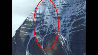 Lord Shiva Face On Kailash (must see)