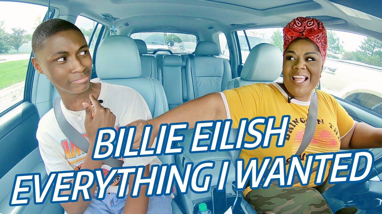 BILLIE EILISH Everything I Wanted CARPOOL Coaching w/Vocal Coach