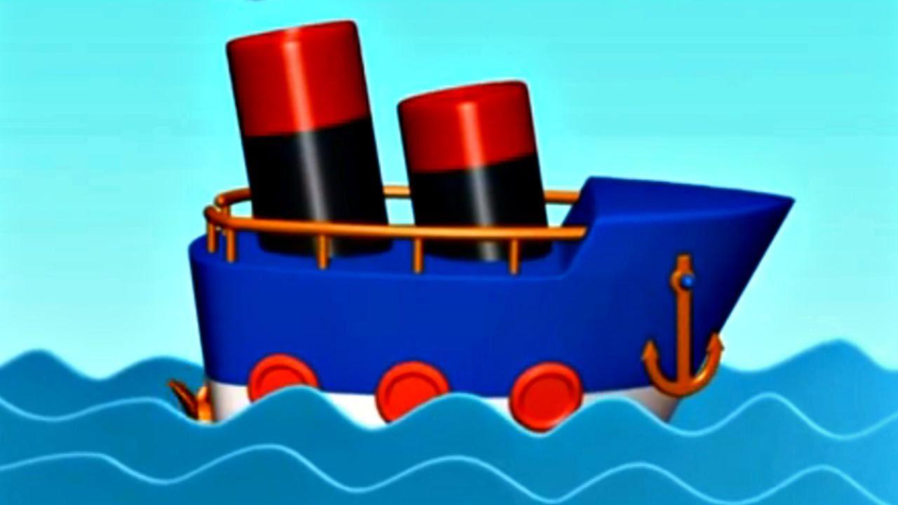 Mon petit bateau jeu d 39 assemblage dessin anim youtube - Dessin petit bateau ...