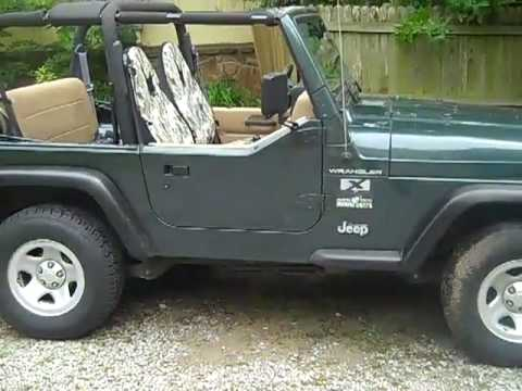 2002 jeep wrangler x youtube. Black Bedroom Furniture Sets. Home Design Ideas