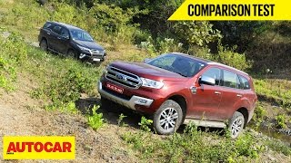 Toyota Fortuner VS Ford Endeavour | Comparison Test | Autocar India