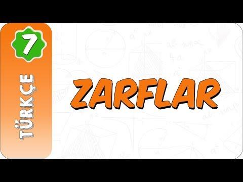7. Sınıf Türkçe | Zarflar
