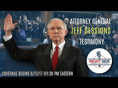 LIVE Stream: Atty. General Jeff Sessions Testifies Before Senate Intelligence Committee 6/13/17