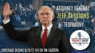 connectYoutube - LIVE Stream: Atty. General Jeff Sessions Testifies Before Senate Intelligence Committee 6/13/17