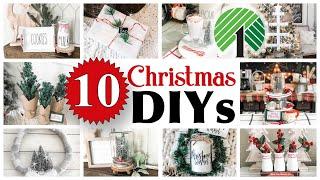 10 CHRISTMAS Dollar Tree DIYs | DIY Dollar Tree Home Decor
