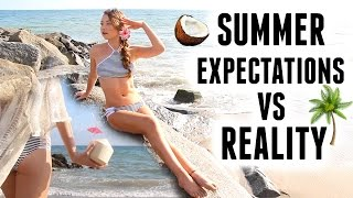 Summer Expectations Vs Reality! | Meredith Foster