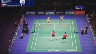amazing highlights of goh liu ying chan peng soon all england semi final 2017