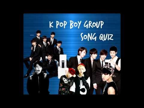 KPOP QUIZ GAME : GUESS THE SONG (BOY GROUPS : 2016)