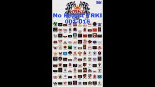 Daftat Regist Club Rx King Di Yamaha Rx King Indonesia  Yrki  Dari No Regist 001-015