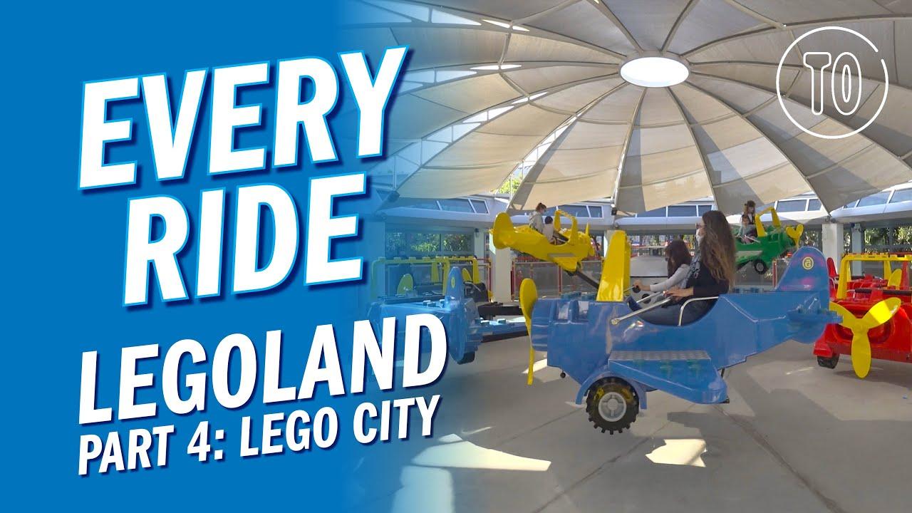 LEGOLAND Themepark PART 4: LEGO CITY (POV)