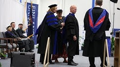 Consul General Manu Virtamo speech during 2017 Finlandia University Commencement Ceremony