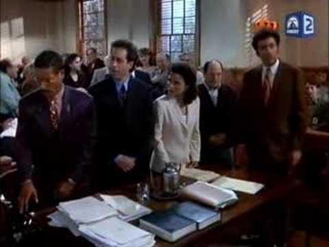 Seinfeld-The Verdict (Newman chokes) streaming vf