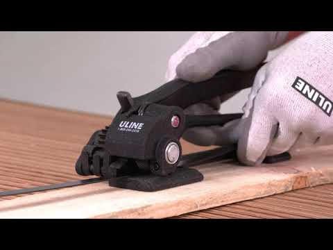 How To Use Standard Steel Strapping Tools