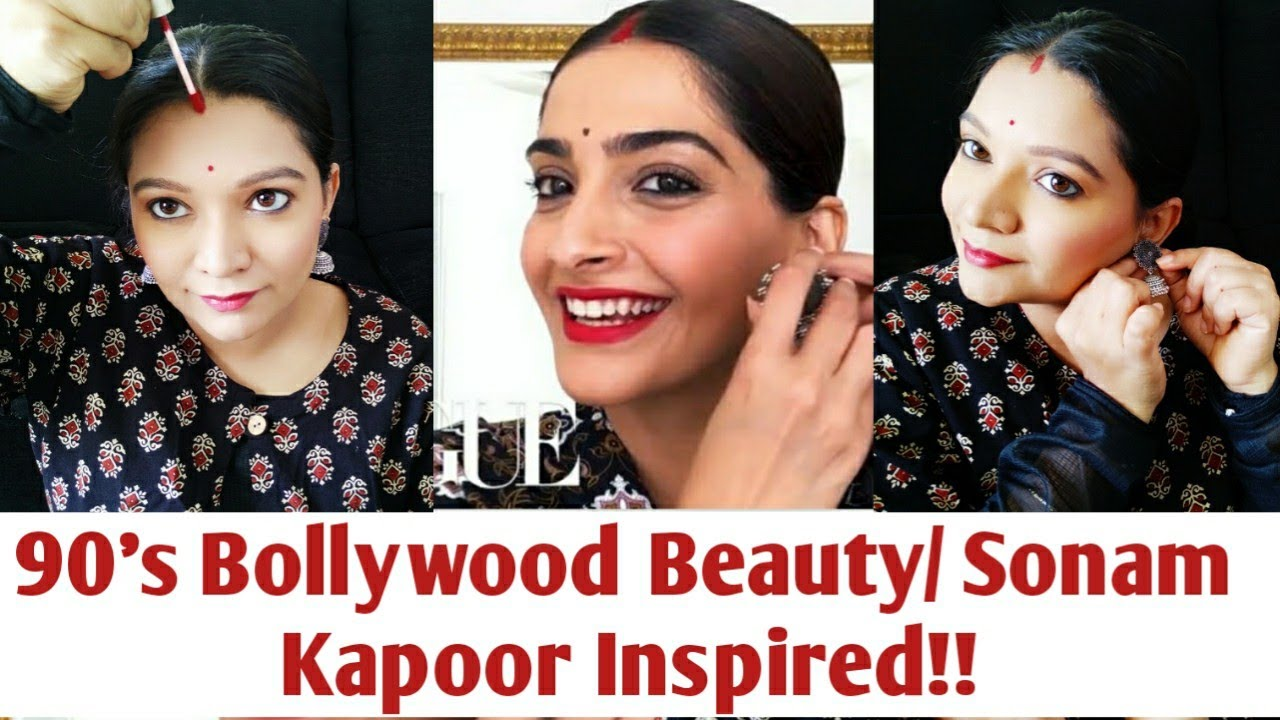 Download Sonam Kapoor gives a lesson in 90's Bollywood Beauty Beauty Secrets  Bollywood Makeup Tutorial 