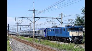 EF64 1031 E235系 F-03編成 新津配給 2020.9.30