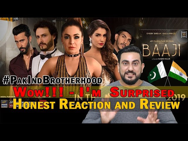 BAAJI - Theatrical Trailer | ARY Films | Page 33 Films | Reaction | Review | Hindi/URDU