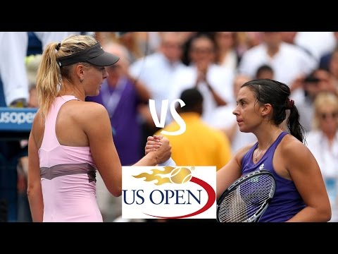 Sharapova vs Bartoli | 2012 US Open Highlights
