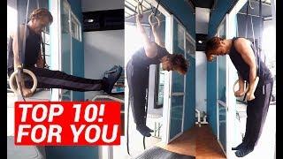 Baixar Top 10 Gymnast Ring Beginner Workout, Program Latihan Calisthenics Pemula | PMB